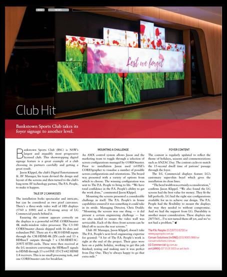 Club Hit Venue Magazine