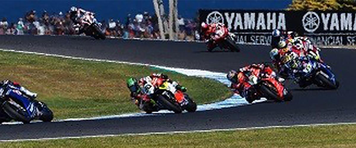 MotoGP super bikes event comms