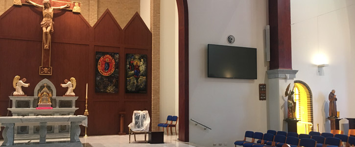 Rosemeadow Curch AV solutions