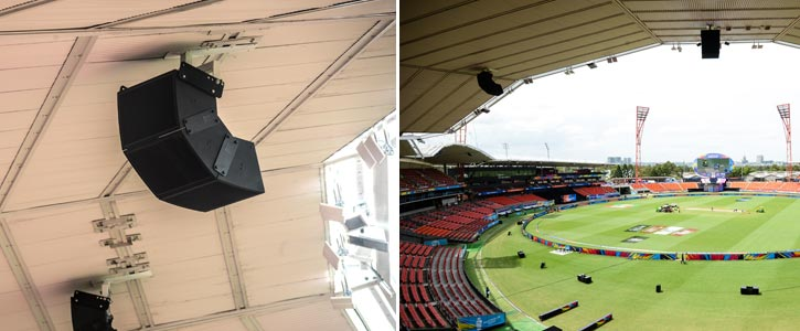 Sydney Stadium Upgrade Speakers