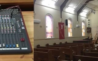 Ryde Uniting Church AV upgrade