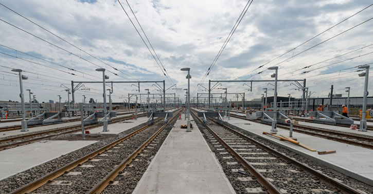 Auburn Rail Yard Transport AV system