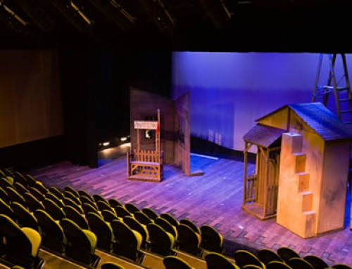 Theatre AV fit-out – Emanuel School