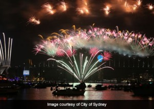 The 2014 Sydney New Year's Eve Event Communications