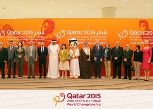 Qatar - Handball to The P.A. People with ClearCom