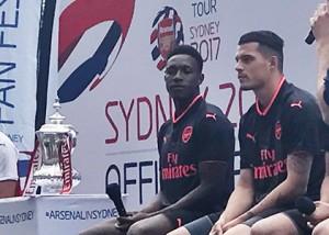 Arsenal vs Sydney FC & Arsenal vs Western Sydney Wanderers Event Comms
