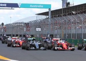The Formula 1® Australian Grand Prix, Melbourne 2016 event communications
