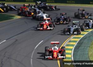 Formula 1® Australian Grand Prix – Melbourne 2017 AV event communications