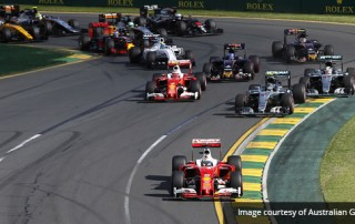 Formula 1 Event Comms