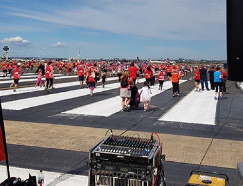 "Cure Cancer Australia ""Runway Run"" PA Systems"