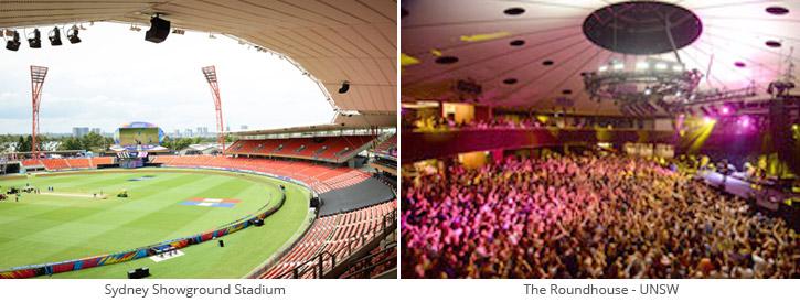 Stadium and Roundhouse AV solution