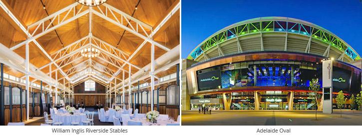 Adelaide Oval AV installation