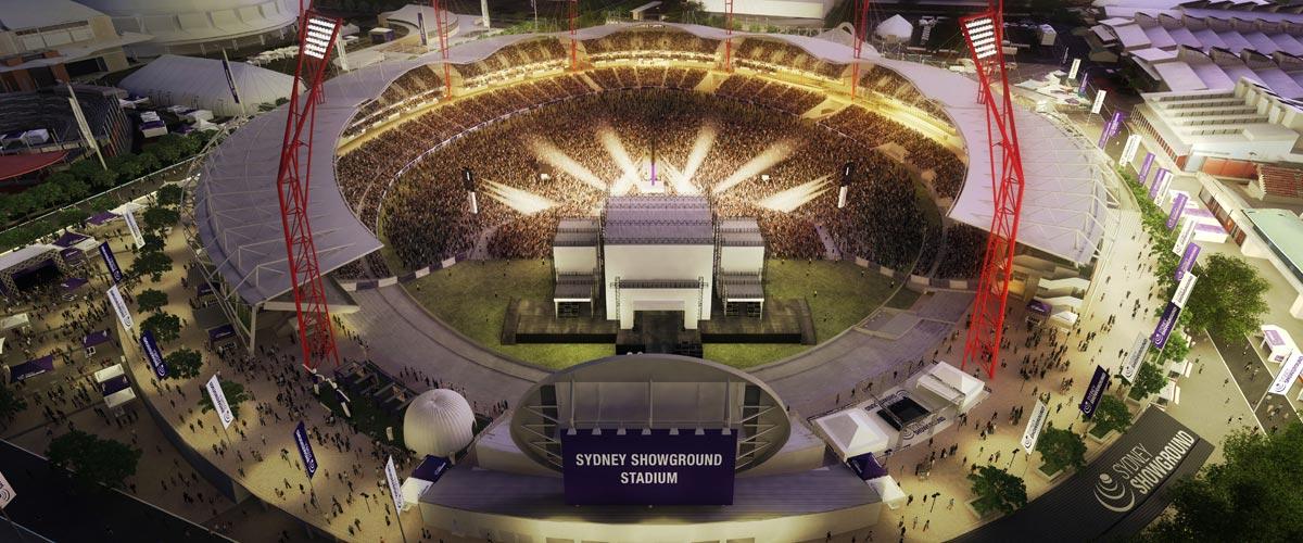 Sydney Showground Stadium AV install
