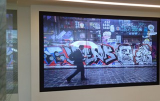 ACMA Video Wall Install