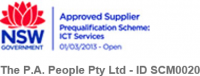 Approved Government Supplier