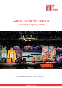 Ceremonies Comms