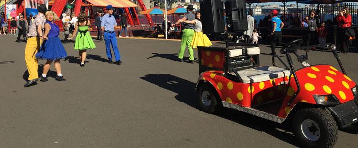 Luna Park Buggy AV System