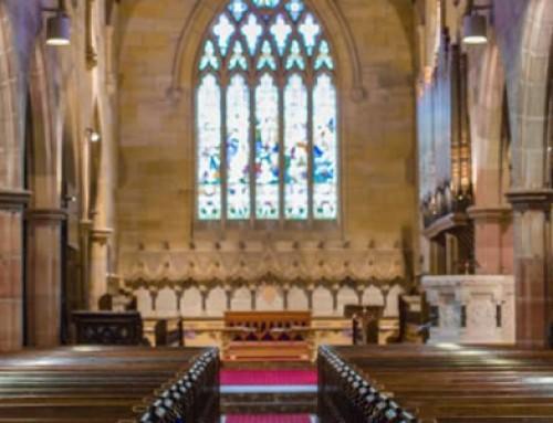 St John's Anglican New AV system