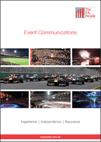 Event Communications Brochure
